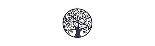 Fleur de vie, Arbre de vie, Om symbole